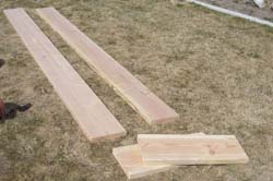 square foot gardening wood