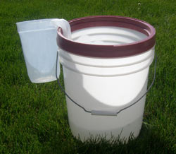 square foot gardening bucket