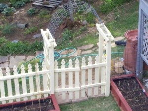 square foot gardening 7 The arbor 300x224