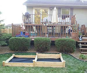 square foot gardening Jim new garden