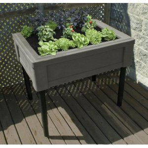 square foot gardening RTS raised bed