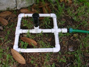 square foot gardening pvc sprinkler 300x225