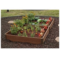 square foot gardening sams club raised beds